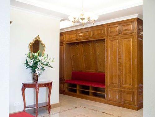Hall w luksusowym apartamencie w Warszawie