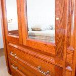 Sypialnia w luksusowym apartamencie w Warszawie