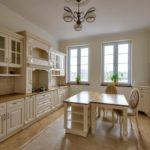Kuchnia w domu w konstancinie