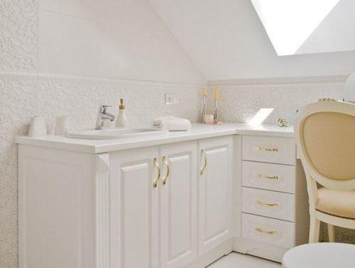 Łazienka w domu w łodzi